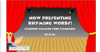 Rhyming Words-Sort, Match, and Write