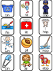 Rhyming Mats & Picture Sorts with Formative Assessments &