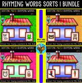 Rhyming Words Sorts   Bundle