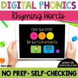 Distance Learning Rhyming Words Sound Tappers - Digital Ph