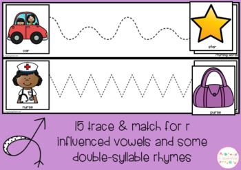 Rhyming Words TRACE & MATCH