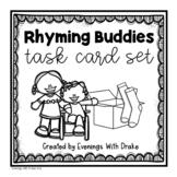Rhyming Words Task Card Set