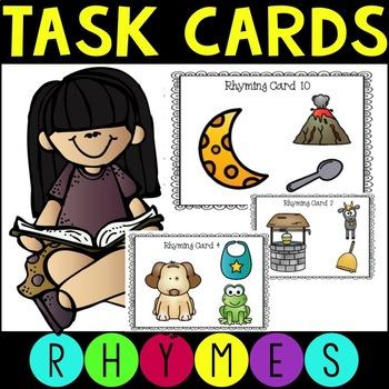 Rhyming Words Task Cards