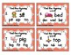 Rhyming Words Task Cards- CVC Set