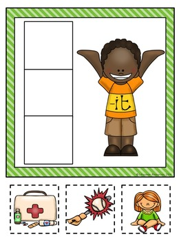 Rhyming Words -  Word Families Literacy Centers