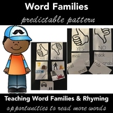 Rhyming Words, Word Families YES/NO SORTGame Activity