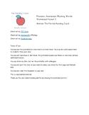 Rhyming Words Worksheet Packet 3