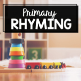 Rhyming Words - Worksheets - Centers - Picture Cards How to Rhyme - Rhymes