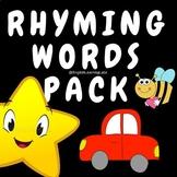 Rhyming Words Worksheets - Freebie