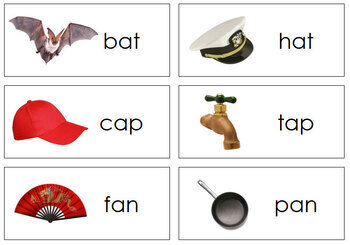 Rhyming Words and Pictures - Level 1