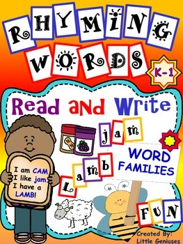 Rhyming and Word Family Story Fun