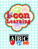 Rhyming Words with Icon Clipart - Pac 1