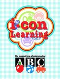 Rhyming Words with Icon Clipart - Pac 2