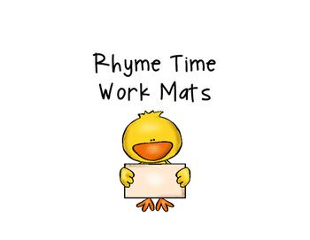 Rhyming Work Mats
