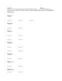 Rhyming Worksheet to Accompany Dr Seuss' Ten Apples Up on Top