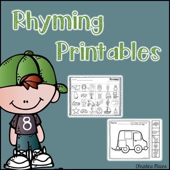 Rhyming Printables