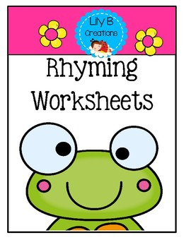 Rhyming Worksheets
