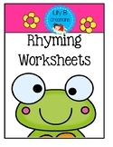 Rhyming Worksheets