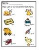 Rhyming Worksheets - Dry Erase Activity Sheets