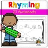 Rhyming Worksheets Back to School