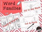 Rhyming-Word Family Short Vowels: Worksheets Bundle