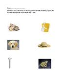Rhyming Worksheets Packet 1