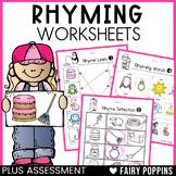 Rhyming Worksheets (Phonological Awareness) *NEW*