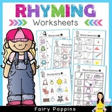 Rhyming Worksheets (Phonological Awareness)
