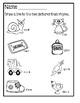 Rhyming Worksheets ~ Set 2