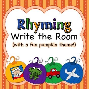 Pumpkins - Write the Room - Rhyming