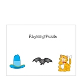 Rhyming and Opposites Puzzle