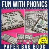 Rhyming  and Spelling Words with Long O Paper Bag Book