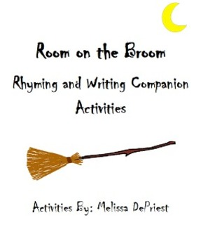 Rhyming and Writing Story Companion to Room on the Broom