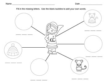 Rhyming- Short VowelsWord Families: -at, -ap