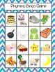Rhyming bingo (pictures only) easier 4 row grid