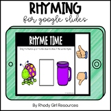 Rhyming for Google Slides | Distance Learning