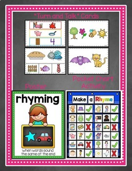 9 Rhyming for Kinders