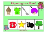 Rhyming is a Hoot! Printable Games