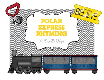 Rhyming on the Polar Express FREEBIE!!