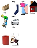 Rhyming pictures with labels