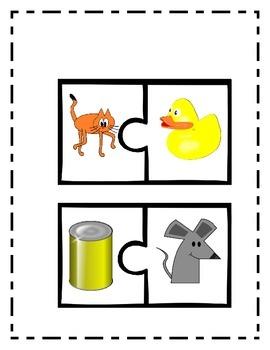 Rimas- Rhyming puzzle