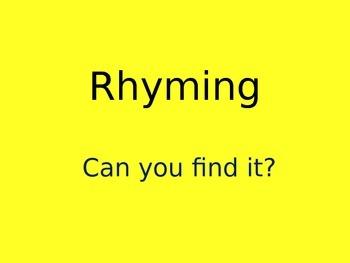Rhyming short /u/ words