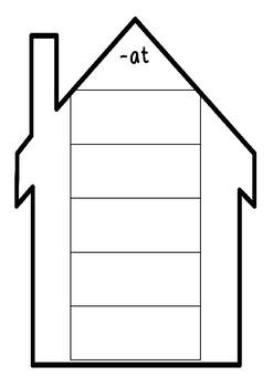 Rhyming sort / word family houses #ausbts18