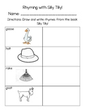 Rhyming with Silly Tilly! FREEBIE