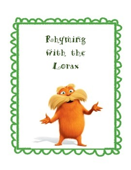 Rhyming with the Lorax