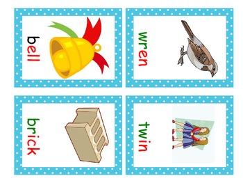 Rhyming/Short Vowel Word Family Bingo