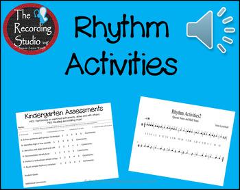 Rhythm Activities for the Classroom: FREEBIE