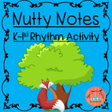 Rhythm Activity K & 1st grade Elementary Music!  FREE!