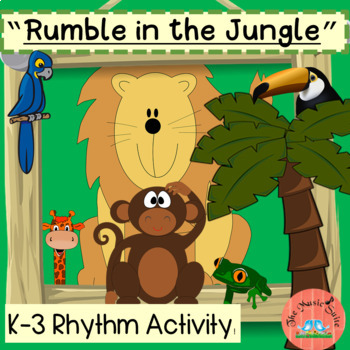 """Rhythm Activity """"Rumble in the Jungle"""""""