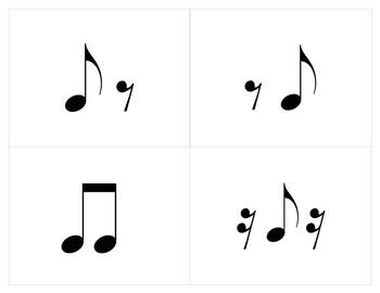 Rhythm Alphabet Flashcards